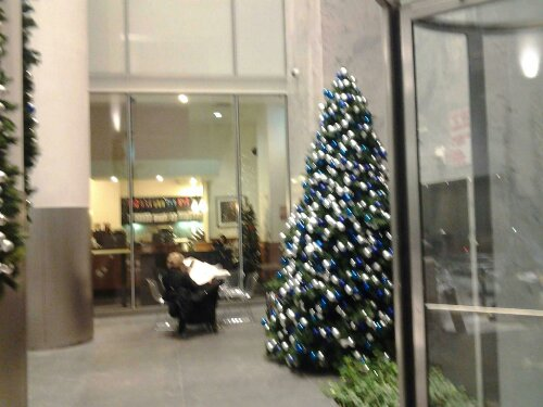 Free Photo Image CopyLeft Public Domain 47 Street XMas Tree