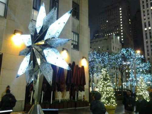 Free Domain Photo Manhattan New York Xmas Rockofeller Plaza Center