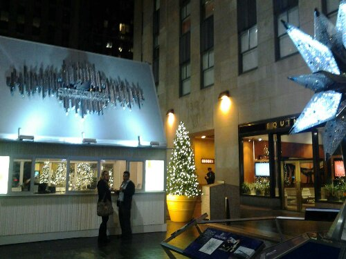 Free Domain Photo Manhattan New York Xmas Rockofeller Plaza Center Swarowsky Shop