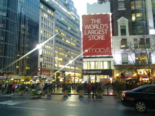 Macy's Guess Shop Window NY Free Photo Image CopyLeft Public Domain