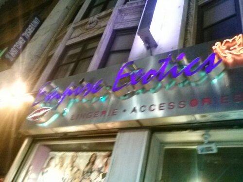 Empire Exotics, Sex Shop